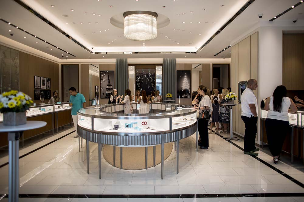 a3fca4de0 On May 5th, Tiffany & Co. celebrated the second anniversary of its Flagship  Store of the Caribbean, with a private event at The Mall Of San Juan.